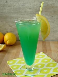 Portofino – przepis na drink   Składniki:  50 ml wódki 150 ml soku pomarańczowego 20 ml likieru Blue Curacao Sprite do dopełnienia lód Przygotowanie:  Wódkę i sok wstrząsam w sh...
