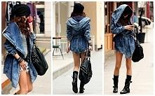 Piękny jeansowy płaszczyk do kupienia w Only4girls.pl!