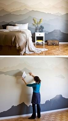 góry na ścianie