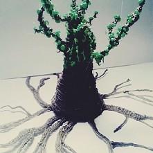 drzewo robione przez mnie hmmm... co tu jeszcze zrobić ?