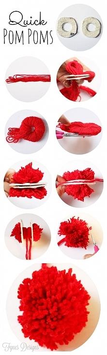 Jak zrobić pompon