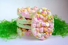 Pianki marshmallow w białej czekoladzie na Wielkanoc!!!