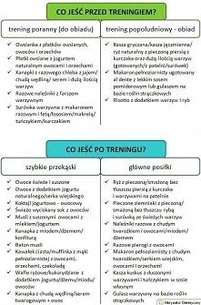 Co jeść przed treningiem i po treningu cz.2 :)