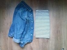 Super stylówka, spódnica ołówkowa w paski z H&M z gumką do sprzedania. Zapraszam :)