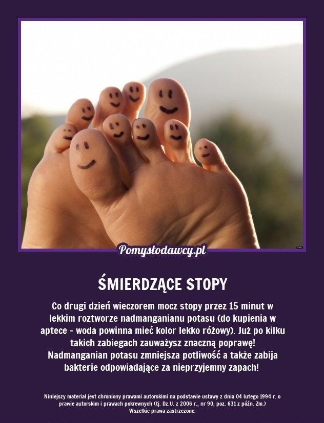 Nieprzyjemny zapach stóp | Kafeteria.pl
