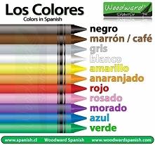Kolory po hiszpańsku