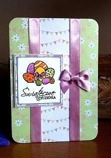 Easter Egg Basket pink&...