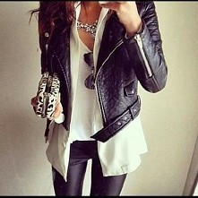 Czerń i biel zawsze w modzie :-)