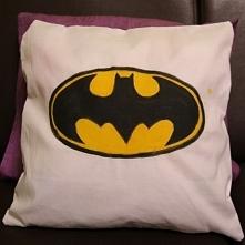 Super, oryginalna i wygodna poducha Batman :) Handmade!!! Świetny pomysł na n...