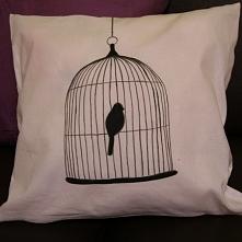 Przepiękna, oryginalna i mięciutka poducha BirdCage :) Handmade!!! Świetny po...