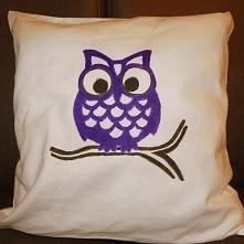 Przepiękna, oryginalna i mięciutka poducha Owl :) Handmade!!! Świetny pomysł ...