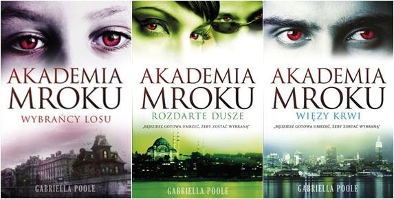 """Gabriella Poole- """"Akademia Mroku"""" czytał ktoś? jakie wrażenia?"""