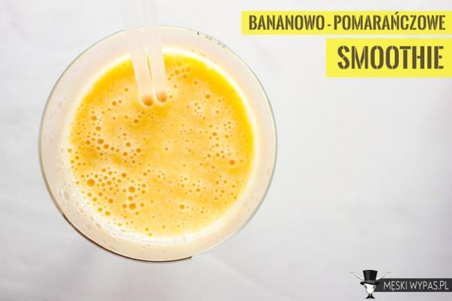 Bananowo-pomarańczowe słoneczne smoothie! Zacznij dobrze dzień!