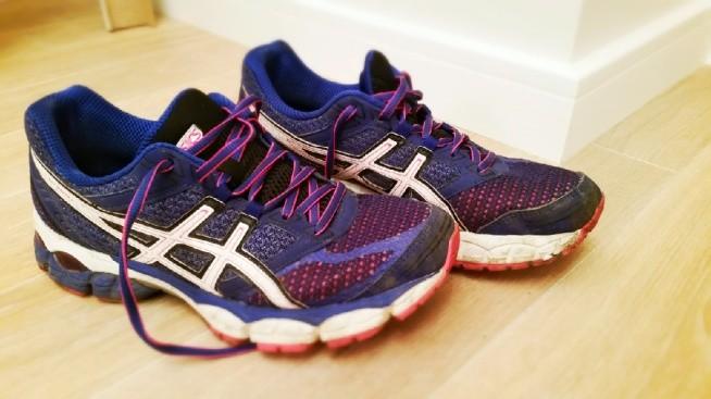 pobiegane :) ile kilometrów przebiegły już wasze buty? moje dzisia zrobiły  350 kilometr  (poprzednie  Pumy prawie 900km) asics gel pulse -polecam