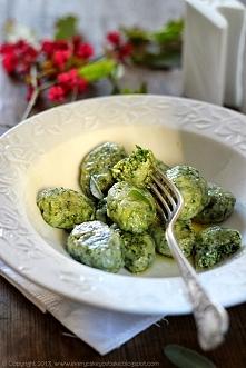 Gnocchi szpinakowe z masłem szałwiowym,  przepis po kliknięciu w zdjęcie