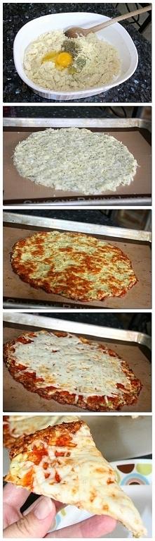 pizza kalafiorowa mmm