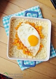 Kuskus z jajkiem