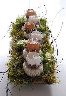 Wielkanocny stroik :)