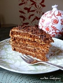 Marlenka (czekoladowo - mleczna),  przepis po kliknięciu w zdjęcie