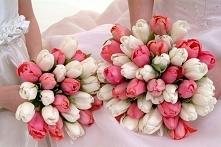 Wiosenny bukiet ślubny - tu...