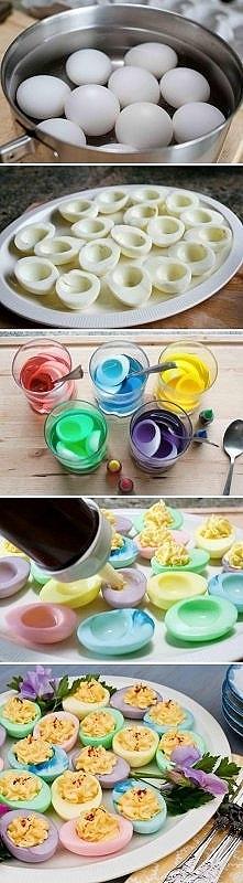 jajka wielkanocne w wersji dla dzieci