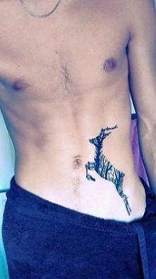 tattoo of a deer ♡
