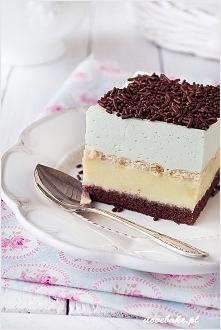 Ciasto miętusek - ILOVEBAKE.PL