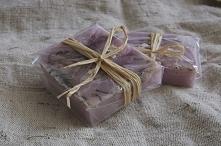 mini mydełka lawendowe