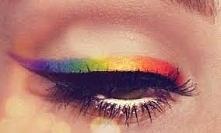 A co myślicie o makijażu w wszystkich kolorach tęczy? Ja chętnie bym sobie taki zrobiła np. na bal karnawałowy. Jeśli macie problem np. z dobraniem ciuchów, czy z makijażem pros...