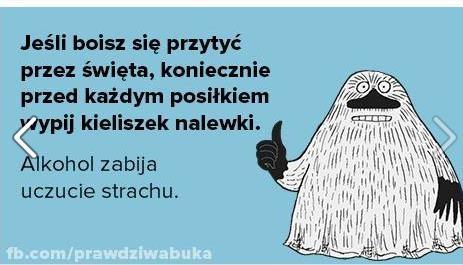 Jeśli obawiasz się świąt .. :)