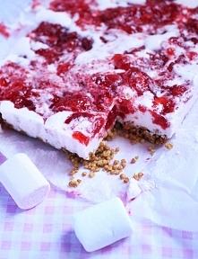 ciasto truskawkowe z piakami
