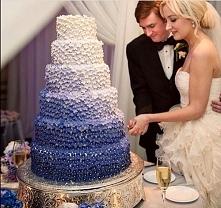 Gradientowy tort weselny,  KOLORY OBŁĘDNE ♥