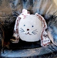 królikowa poduszka