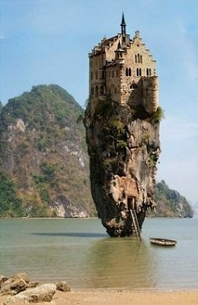 The Castle House Island in ...