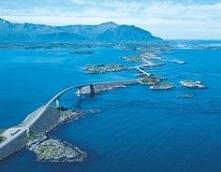 Atlantic Ocean Road, Norway...