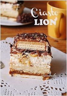 Ciasto LION bez pieczenia -...