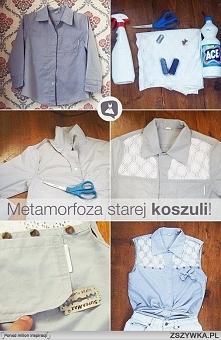 sposób na starą koszulę