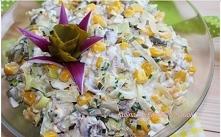 Sałatka z pieczarek  PRZEPIS:  SKŁADNIKI :  500 g jasnych pieczarek (krojone dostępne w Lidlu) + 1 łyżka soku z cytryny do gotowania 5 jajek ugotowanych na twardo,pokrojonych w ...