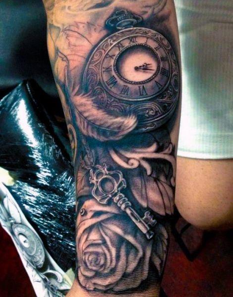 Tatuaże Męskie Na Przedramieniu Na Tatuaże Zszywkapl