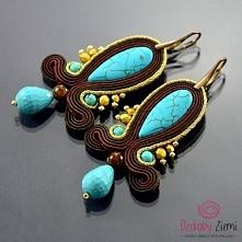 Kolczyki Sutasz Koyak Turquoise od Ozdoby Ziemi