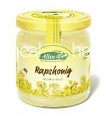 Miód rzepakowy Bio 500 g - Allos Miód rzepakowy wyróżnia się jasnym kolorem-od białego do jasnożółtego. W smaku jest słodki, z wyczuwalna nutą kwiatów rzepaku. Działa pomocniczo...