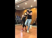 Sexy Bachata dance - Crazy in love (cover)