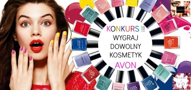 """Konkurs !! Wygraj dowolny kosmetyk AVON :)  Więcej informacji na stronie na Facebooku: """"Avon - Bo piękno jest w Tobie"""""""