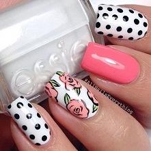 ♥kwiaty+kropki♥