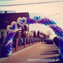 Brama z balonów. Podoba się...