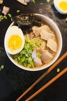 Kreatywne Piny; Japoński Chicken Ramen; Przepis po kliknięciu w zdjęcie <3