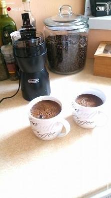 Wypić kawę o poranku z ukoc...
