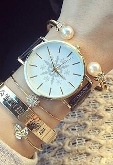 Śliczny zegarek