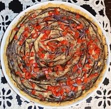 Tarta z bakłażanem i gorgonzolą