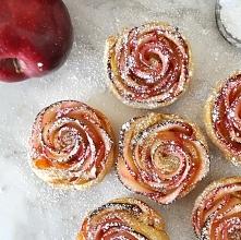 Przepis na jabłkowe róże – ależ chciałoby się to zjeść!